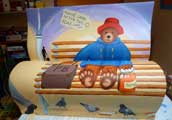 paddington book bench