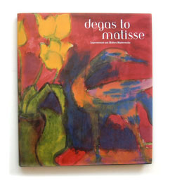 """Degas to Matisse"" book cover"