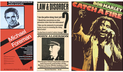 Hamish Hamilton publicity posters for various books